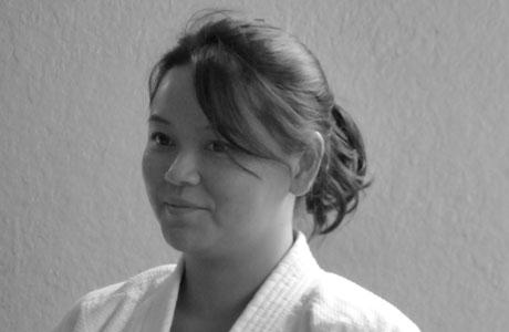 Béatrice, la présidente de l'Aïkikaï de Grenoble
