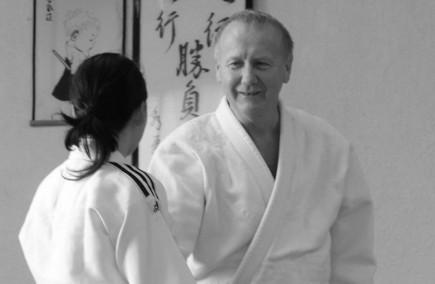 Ronald, professeur d'aïkido à l'Aïkikaï de Grenoble