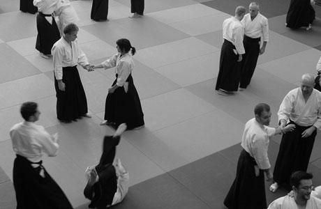 cours d'aïkido adulte