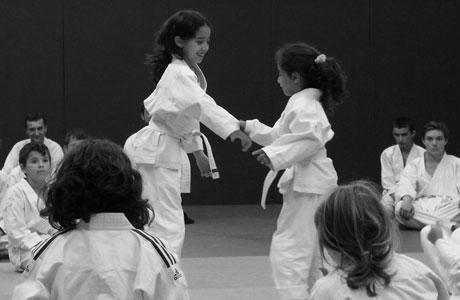 cours d'aïkido enfants